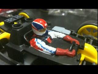 そうだ!ミニ四駆ドライバー人形を塗装しよう!